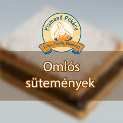 omlós sütemények