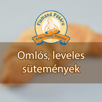 Omlós, leveles sütemények